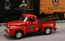 New The Burlington Route Chicago Burlington & Quincy1/43 1953 Ford with RR Ties