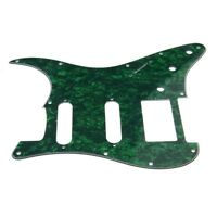 1 HSS 3 Ply Electric Guitar Pickguard Green Pearl for Fender Strat Stratocaster
