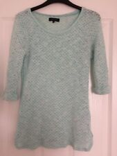 NEW LOOK Mint Green Thin Jumper Size 10