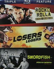 Triple Feature - RocknRolla / The Losers / Swordfish [Blu-Ray] - Brand New