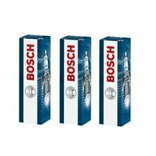 3x Bosch Spark Plugs Double Iridium For Ford Fiesta 1.0 EcoBoost MK 7 B299