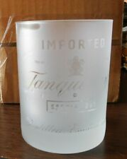 Tangueray Imported Special Dry Gin - Frosted Drink / Bar / Liquor Glass - 12 oz