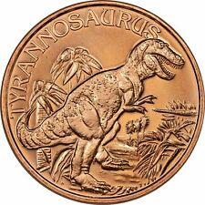 Lot of 20 - 1 oz Copper Round - Tyrannosaurus Rex