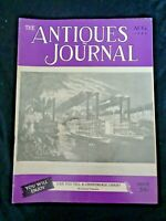 Antiques Journal 1952 Louis Comfort Tiffany Favrile Vases Josiah Wedgwood Teapot