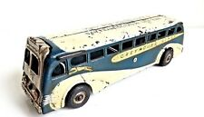 Vintage 1939 Arcade Cast Iron Greyhound World's Fair San Francisco Tour Bus Toy