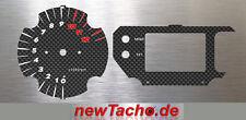 KTM 990 640 Superduke Carbon Tachoscheiben gauge dial Tacho Drehzahlmesser