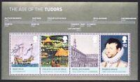 GR BRITAIN 2009 MS2930 The Age of the Tudors, Mini-Sheet, S/S Mint NH