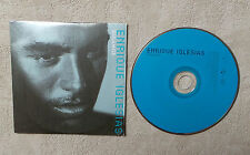 "CD AUDIO MUSIQUE INT / ENRIQUES IGLESIAS ""BAILAMOS"" CDS 1999 2T CARDBOARD SLEEVE"