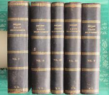 Diritto delle pandette 1925 OPERA COMPLETA 5 Vol. - Bernardo Windscheid