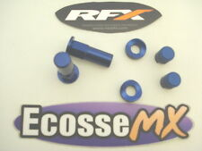 RFX Rim Lock Nuts Dust Caps BLUE CRF CR YZF YZ RM KXF TE FC FE TC