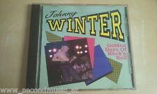 CD--JOHNNY WINTER--GOLDEN DAYS OF ROCK N ROLL   -ALBUM