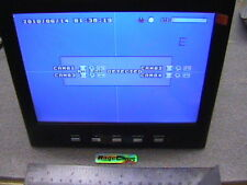 "4 CAMERA SECURITY MOBILE DVR+8""LCD CCTV VIDEO RECORDER"