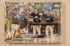 2018 Topps Series 1 and 2 Complete Team Set - PRE-SELL - Milwaukee Brewers