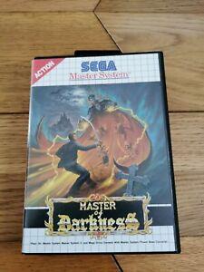 Master Of Darkness Sega Master System