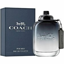 Coach NEW YORK 3.4 3.3 oz 100 ml Coach Men Cologne EDT Spray New  Factory Sealed