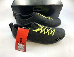 Scott Road RC Lace Carbon Cycling Shoes Men's 44 EU / 10 US Black New in Box