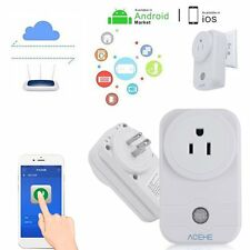 2PCS Smart WiFi Remote Control Timer Switch Power Socket Outlet US Plug WA