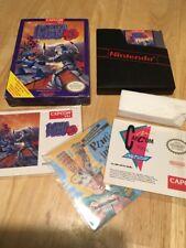 Rara De colección Video Juego De Consola Nintendo Nes Mega Man 3 en Caja Completo Muy Buenas