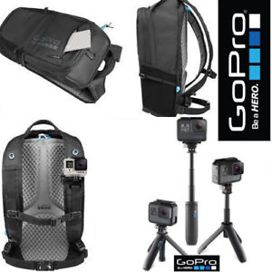 GoPro SHORTY MINI EXTENSION POLE AFTTM-001+ GOPRO BACKPACK AWOPB-001 FOR GOPRO