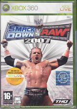 Xbox 360 **WWE ♦ SMACKDOWN VS. Raw 2007** nuovo sigillato italiano pal