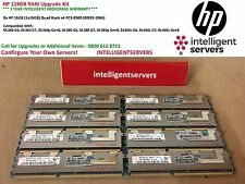 HP 128GB RAM Upgrade - DL160 G6 DL360 G6 DL380 G6 DL360 G7 DL380 G7 DL385 G7