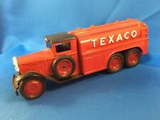 1930 Texaco Diamond Fuel Tanker Die Cast Coin Bank T7