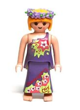 Playmobil Figure Magical Forest Fairy w/ Purple Dress Flower Wreath 4008
