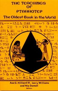 Ancient Egyptian Papyrus Ptahhotep Teachings Proverbs Wisdom World's Oldest Book