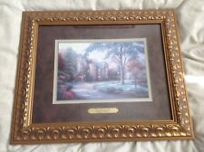 "THOMAS KINKADE ""BEYOND SUMMER GATE"" COLLECTORS' SOCIETY LITHOGRAPH - GORGEOUS!"