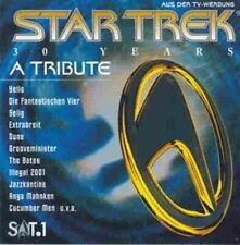 Star Trek-30 Years-A Tribute (1996) Yello, Fanta 4, Selig, Extrabreit, Du.. [CD]