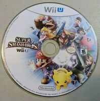 Super Smash Bros. (Nintendo Wii U, 2014) Disc Only