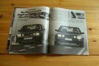 Autozeitung 15157) VW Golf GTD von Domröse mit 105PS besser als...?