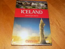 UNFORGETTABLE JOURNEYS ICELAND Land of Fire and Ice Travel Series RARE DVD NEW
