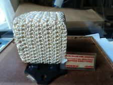 Crocheted cube.  Blessed at Pranic Healing Home, Annanagar, India