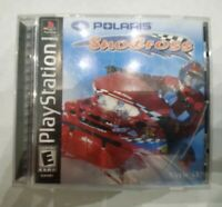 Polaris SnoCross  (Sony PlayStation 1, 2000) PS1  Complete Free Fast Shipping