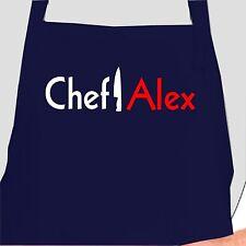 Personalized Chef Apron.  Custom Chef apron. Personalized Apron
