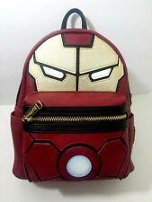 Disney Marvel Iron Man Loungefly Mini Backpack Light Up