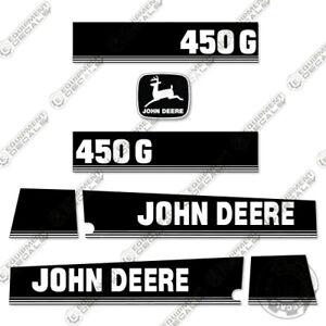 John Deere 450G Decal Kit Dozer Equipment Decals 450 G - 7 Year 3M Vinyl!