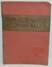 1936 Conant-Ball Furniture Catalog Cape Cod Maple