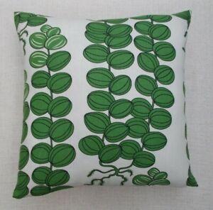 "JOSEF FRANK Fabric Cushion Cover 'CELOTOCAULIS'  20"" - 100% LINEN - DOUBLE SIDED"