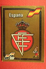 Panini EURO 88 N. 131 ESPANA BADGE WITH BACK VERY GOOD / MINT CONDITION!!!