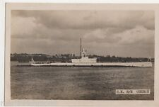 HM Submarine Oberon Real Photo Postcard, B577