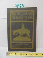 THE CALL OF THE FORGOTTEN MAN BY LUTHER E TODD METHODIST CHURCH 1923 BOARD FIN.