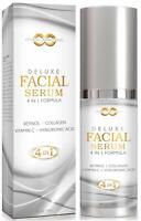 Hyaluronic Acid Serum Organic Vegan Anti-Aging Wrinkle 2oz COLLAGEN, RETINOL USA