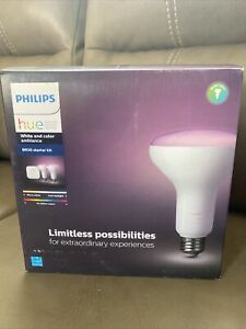 Philips Hue BR 30 Color Starter Kit Brand New/sealed (2 Bulbs + 1 Hue Bridge)
