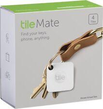 Tile Mate Blutooth Key Wallet Cellphone Item Tracker Finder   4-Pack