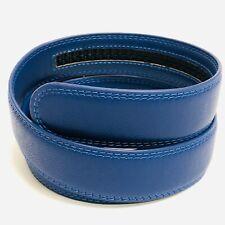 1 3/8 inch 3.5 cm Belt Blue Strap for Automatic Ratchet Buckles Belt STRAP ONLY