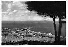 BR6103 Erice Veduta di Trapani e delle egadi  italy
