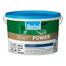 3x12,5 L  Herbol Zenit Power superdeckende Innenfarbe mit Titankraft,tuchmatt