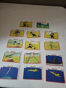 14 - Vtg 1990 Upper Deck Looney Tunes Major League Baseball Comic Ball Cards